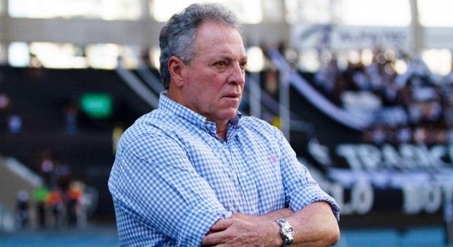 Abel Braga comandou o Flamengo neste ano