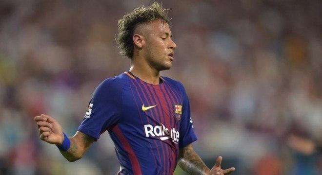 Neymar conquistou uma Liga dos Campeões pelo Barcelona