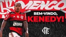Kenedy é regularizado e já pode estrear pelo Flamengo