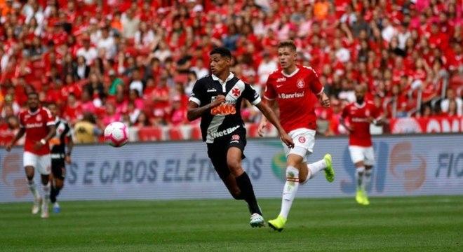 Marrony marcou o gol da vitória do Vasco