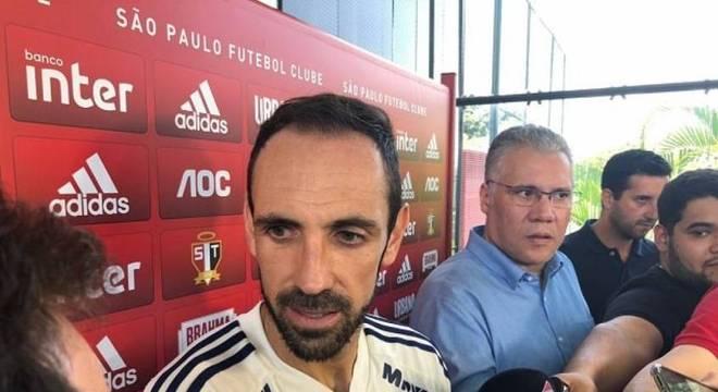 Juanfran negou torcida para o Flamengo