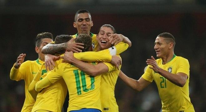 Brasil é a seleção sulamericana melhor colocada no ranking