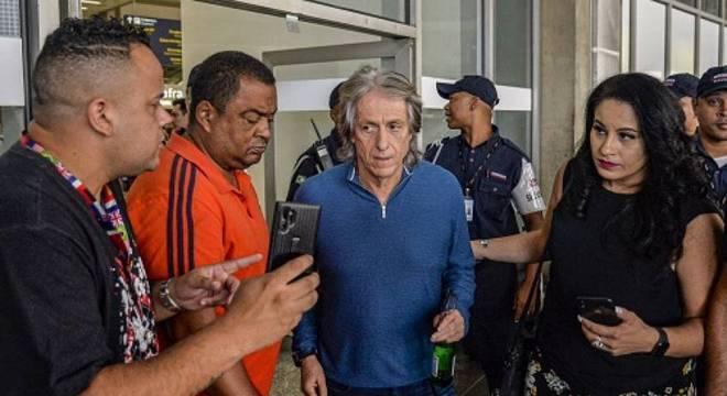 Jorge Jesus volta a trabalhar no Flamengo esta terça-feira