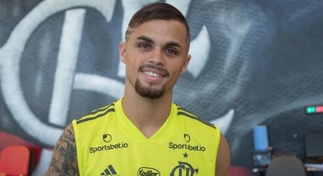 Michael é uma das grandes contratações do Flamengo para 2020