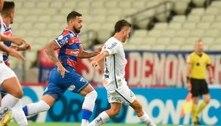 Com reservas, Santos perde pênalti e é derrotado para o Fortaleza