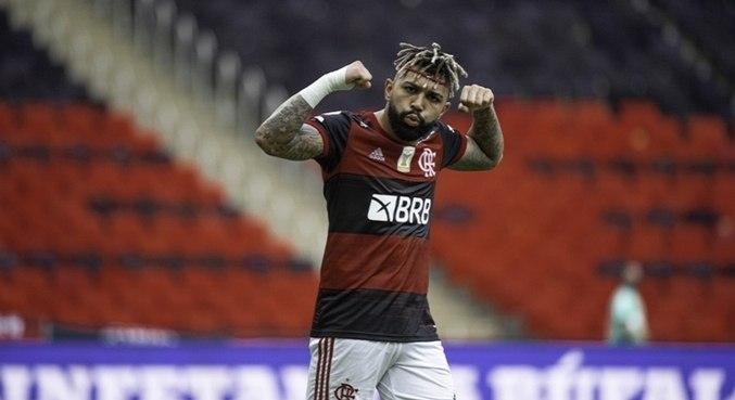 Atacante do Flamengo recebeu 53% dos votos