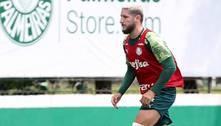 Zé Rafael treina e Palmeiras se prepara para enfretar Atlético-GO