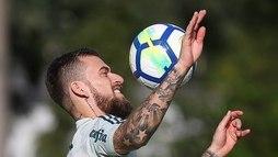 Palmeiras treina na Academia e deve ter Lucas Lima como titular contra o Inter ()