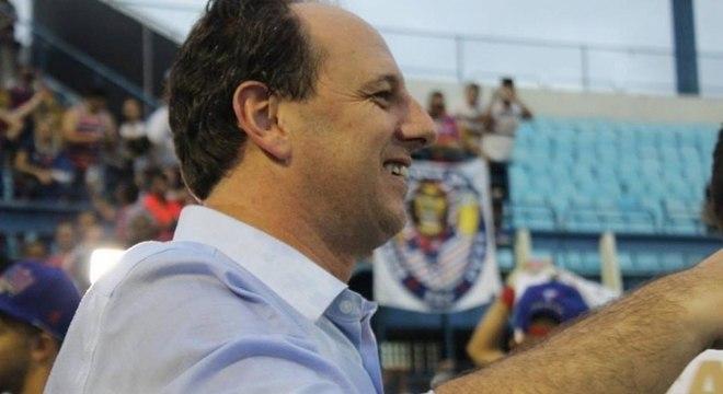 Rogério Ceni comandará o Fortaleza na decisão do título cearense