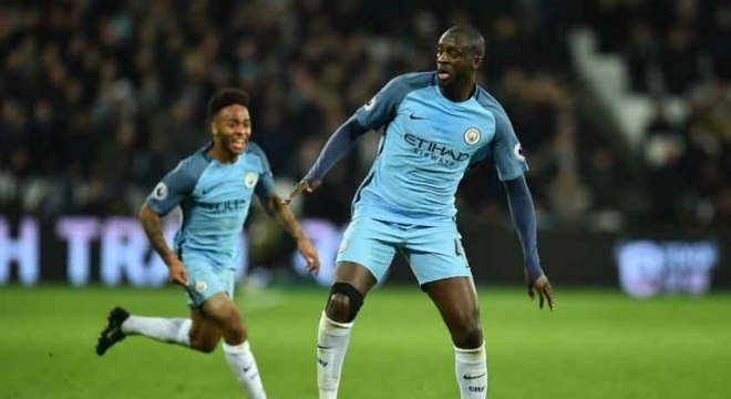 Yaya Touré brilhou com a camisa do Manchester City