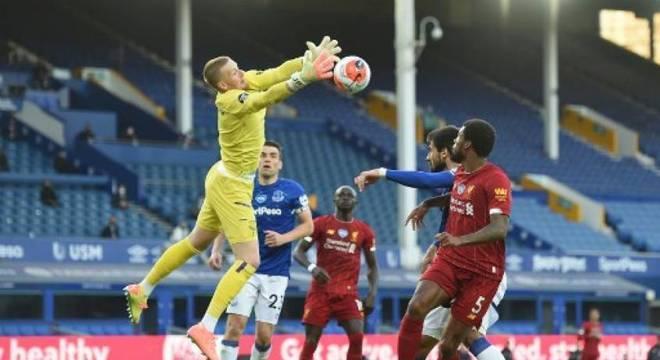 Everton e Liverpool não saíram do 0 a 0