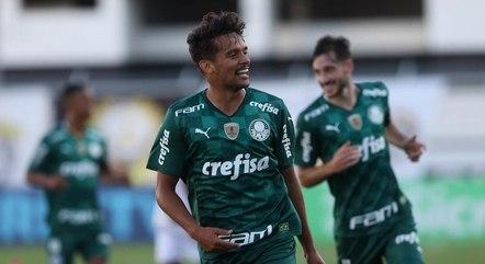 Scarpa vem se destacando no Palmeiras