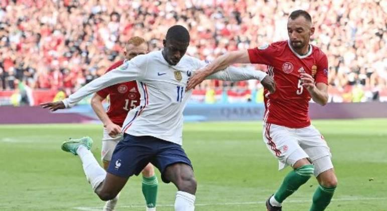Dembelé é cortado da Eurocopa após lesão sofrida no joelho