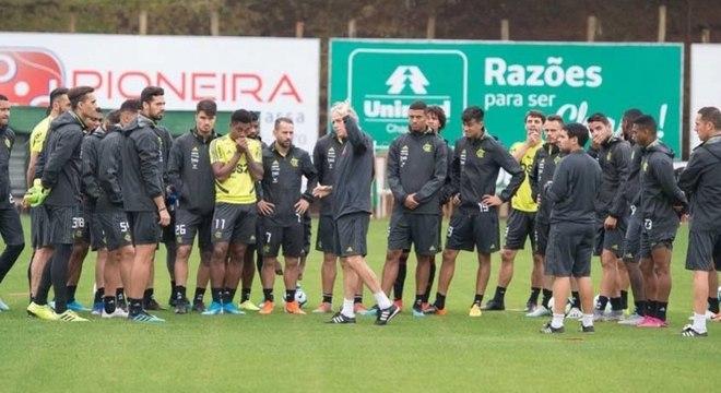 Jorge Jesus se despediu do Flamengo na última segunda-feira