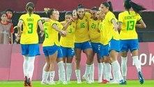 Goleada deixa evidente que Seleção feminina não se restringe a Marta para lutar pelo ouro na Olimpíada