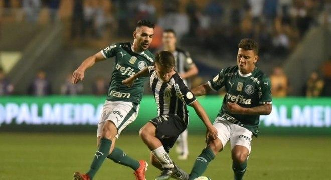 Palmeiras e Santos será disputado no Morumbi