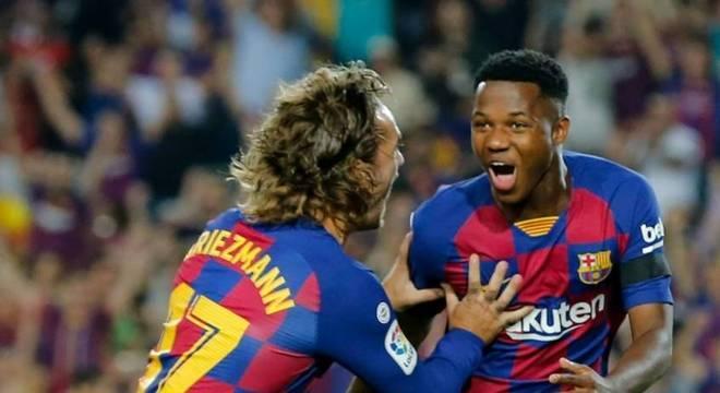 Ansu Fati tem feito ótimo início de temporada pelo Barcelona