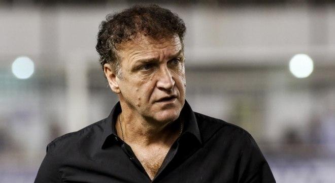 Cuca teve ameaça de infarto contra o Cruzeiro