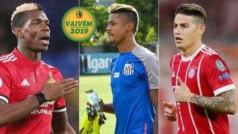 Pogba, James Rodríguez... O que já rolou no Vaivém desta quinta-feira  (Instagram)