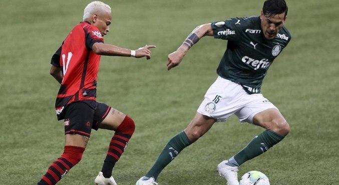 Palmeiras x Atlético-GO entraram em campo de olho em finais de outros campeonatos