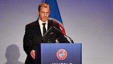 Presidente da Uefa faz críticas a Florentino Pérez, do Real Madrid