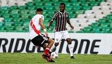Eleito o melhor em campo, Cazares elogia Fred após empate do Fluminense: 'Ele é artilheiro'
