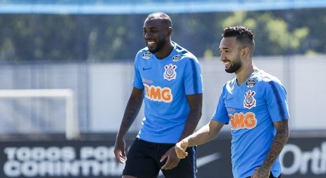 Manoel foi poupado pela comissão técnica do Corinthians