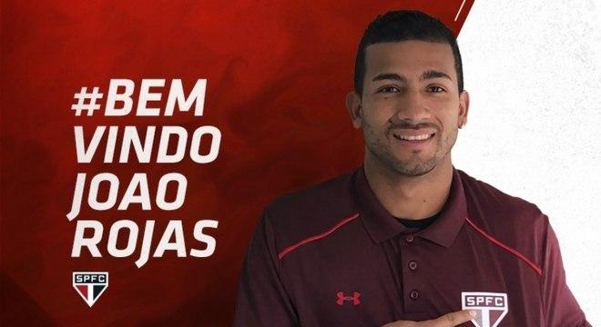 Contratado pelo São Paulo, Rojas estava no Talleres, da Argentina