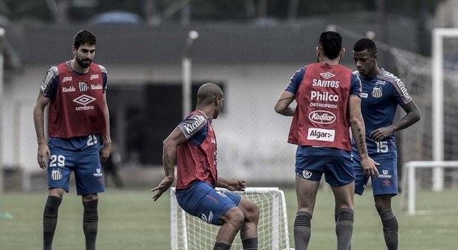 Elenco do Santos passará por avaliação física e fisiológica a partir de terça