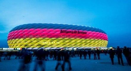 Protesto no estádio foi vetado pela Uefa