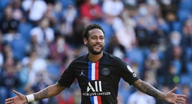Neymar tem média de quase um gol por jogo