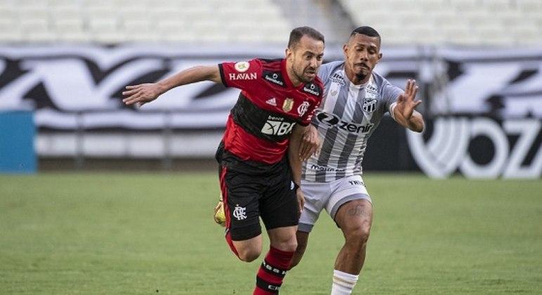 Flamengo busca empate contra o Ceará e encosta nos líderes do Brasileirão