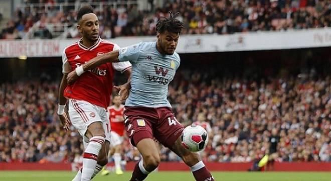 Aubameyang decide no final e Arsenal vence Aston Villa de virada
