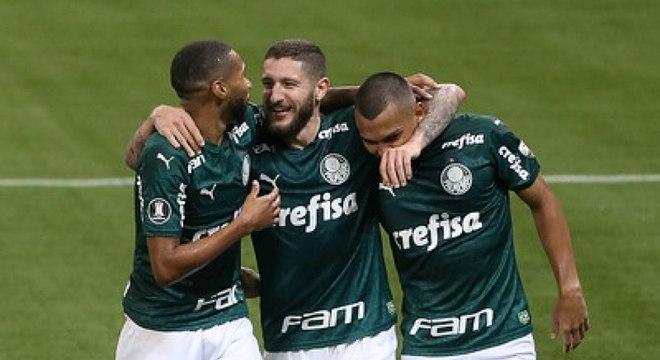 Zé Rafael fez um dos gols da goleada do Palmeiras sobre o Tigre