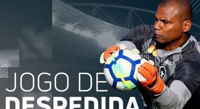 Jefferson encerrará a carreira com, provavelmente, 459 jogos pelo Botafogo