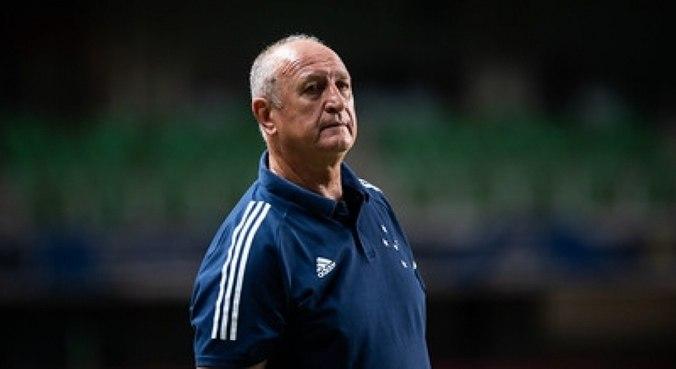 Felipão falou que meta era não cair para Série C e espera projeto do Cruzeiro