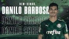 Palmeiras anuncia contratação do volante Danilo Barbosa