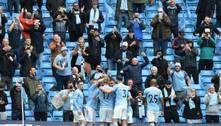 Gabriel Jesus comemora marca de 50 gols na Premier League