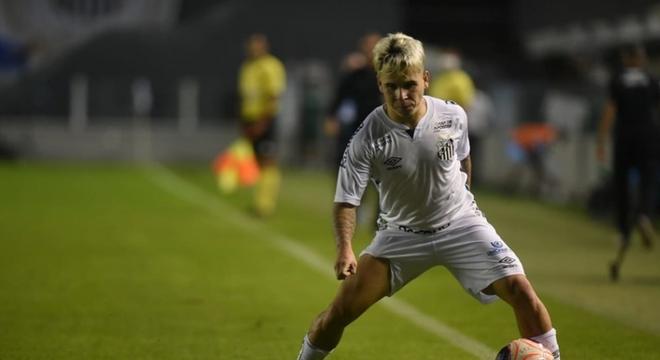 Contra o Santo André, Soteldo marcou o seu primeiro gol em 2020