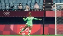 Em sua quarta e última Olimpíada, Bárbara diz o que espera do torneio: 'Que seja com a medalha de ouro'