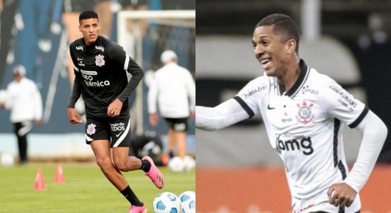 Rodrigo Varanda e Matheus Davó, pelo Corinthians