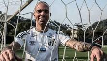 Santos anuncia a contratação do atacante Diego Tardelli