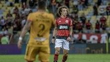 David Luiz comemora estreia pelo Flamengo: 'É um dia especial'