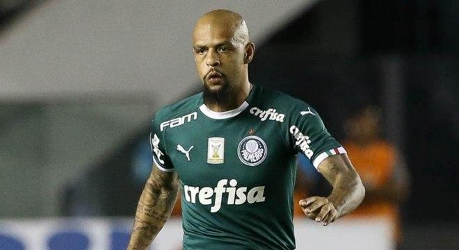 Felipe Melo provocou torcedores do Santos após clássico