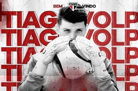São Paulo contrato o goleiro Tiago Volpi