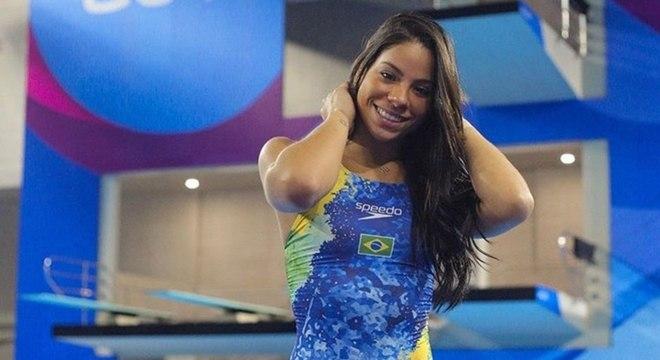 Ingrid Oliveira conquistou a medalha de prata no Pan-Americano Toronto 2015
