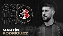 Martín Rodríguez é anunciado como reforço do Santa Cruz
