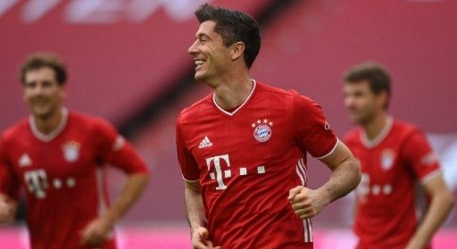 Robert Lewandowski, astro do Bayern, foi um dos indicados ao Prêmio Laureus
