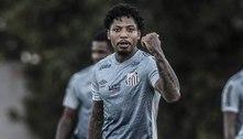 Marinho testa positivo para covid e desfalca o Santos na última rodada