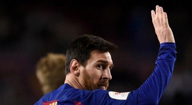 Lionel Messi está bem ativo na luta contra o coronavírus